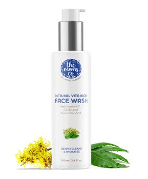 The Mom's Co Natural Vita Rich Face Wash - 100 ml
