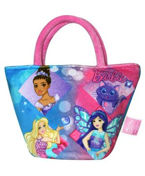 Barbie Hand Bag - Pink Blue