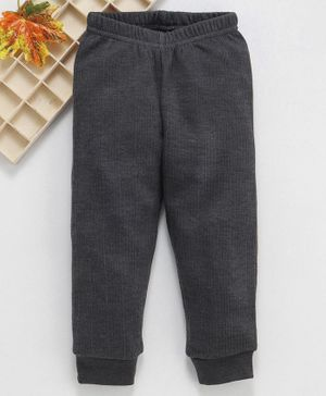 Babyhug Full Length Thermal Bottom - Grey