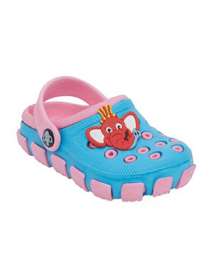 Imagica Tubbby Character Clogs - Light Blue