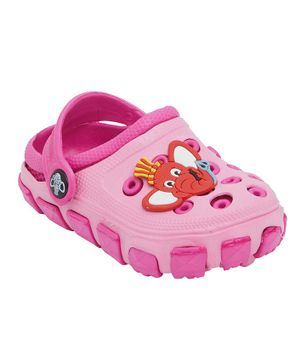 Imagica Tubbby Character Clogs - Pink
