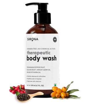 Sirona Natural Anti Fungal Therapeutic Body Wash With 5 Magical Herbs for Baby - 200 ml