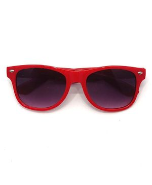 Kid-O-World Square Shaped Sunglasses - Red
