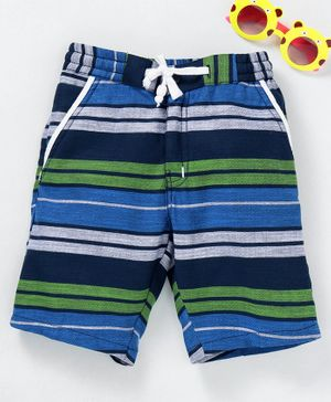 Rikidoos Striped Shorts - Blue