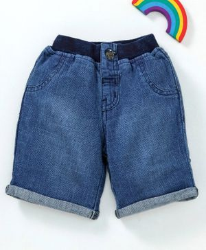 GJ Baby Shorts Solid Colour - Blue