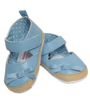 Morisons Baby Dreams Belly Shoes - Blue