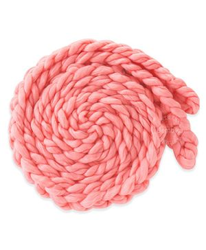 Bembika Braided Twist Rope Photo Prop Cum Backdrop - Pink