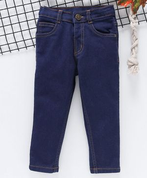 Babyhug Boys Full Length Jeans 5-6 YRS Dark Blue