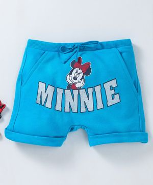 Bodycare Shorts Minnie Print - Blue