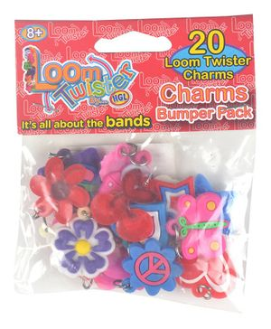 Looms Charms Bumper Pack Pack of 20 - multicolour