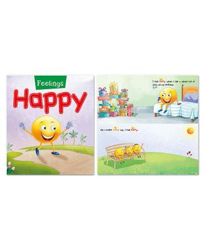 My Feelings Book Pack of 4 - English