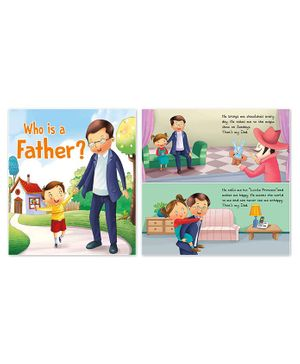 My Family Book Pack of 4 - English