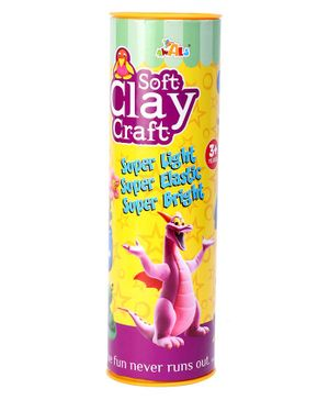 Awals Soft Clay Dough Craft - Multicolour