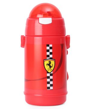 Ferrari Speed Wave Double Wall Water Bottle Red - 400 ml