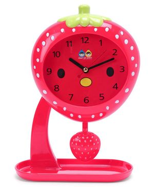 Fruit Swing Alarm Clock - Red