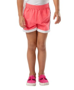 Cherry Crumble California Elasticated Shorts - Pink