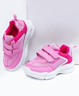 Cute Walk by Babyhug Sport Shoes - Pink