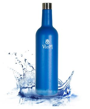 Viom Stainless Steel Insulated Bottle Blue - 750 ml