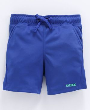 KASGO Solid Shorts - Blue