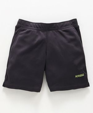 KASGO Solid Shorts - Dark Grey