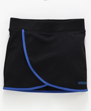 KASGO Solid Skorts - Black & Blue