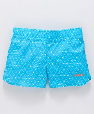 KASGO All Over Print Shorts - Light Blue