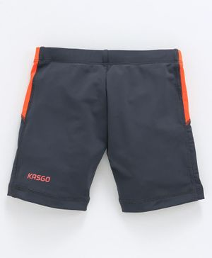 KASGO Solid Swimming Shorts - Grey
