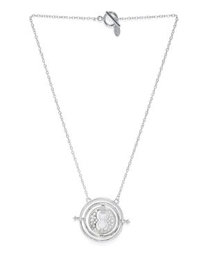 EFG Harry Potter Official WB Time Turner Pendant Chain - Silver