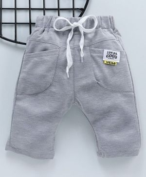 Leeker Kids Drawstring Waist Shorts - Grey