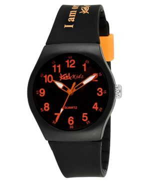 Kool Kidz Analogue Watch - Orange & Black