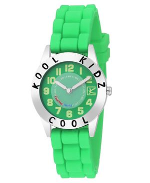 Kool Kids Analogue Watch - Green