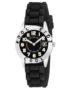 Kool Kids Analogue Watch - Black