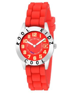 Kool Kids Analog Watch - Red