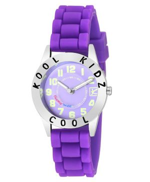 Kool Kids Analog Watch - Purple