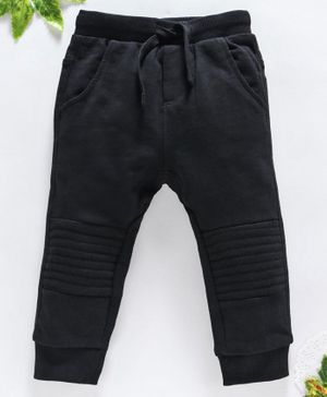 OVS Full Length Solid Lounge Pants - Black