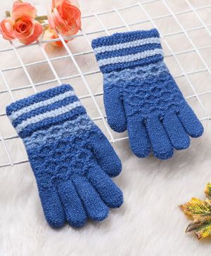 Babyhug Hand Gloves - Royal Blue