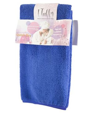Quick Dry Fluffy Towel  - Blue