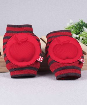 Babyhug Elbow & Knee Protection Pads - Red
