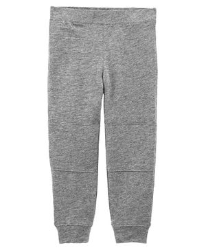 Carter's Pull-On Slub Jersey Skinny Joggers - Grey