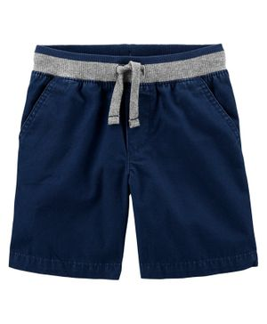 Carter's Easy Pull-On Dock Shorts - Navy