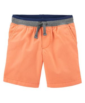 Carter's Easy Pull-On Dock Shorts - Orange