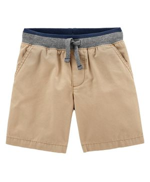Carter's Easy Pull-On Dock Shorts - Brown