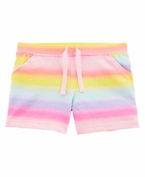 Carter's Drawstring Waist Shorts - Pink Multicolor