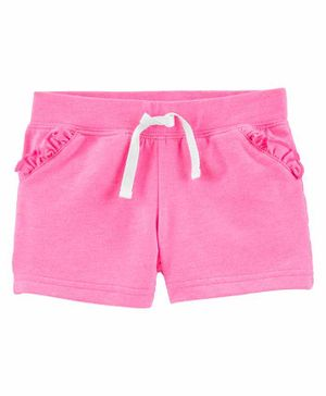 Carter's Solid Color Shorts - Pink
