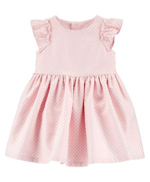 Carter's Polka Dot Holiday Dress - Pink