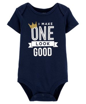 Carter's 1st Birthday Collectible Bodysuit - Navy