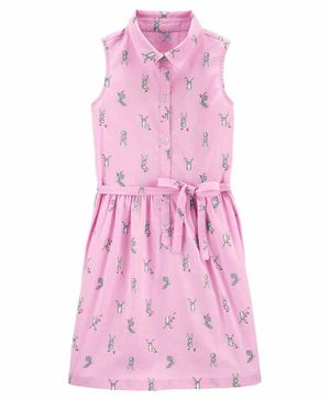Carter's Easter Bunny Shirt Dress - Pink