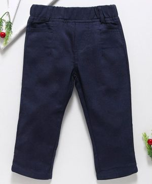 Reiki Trees Full Length Trouser - Blue