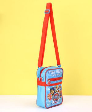 Paw Patrol Sling Bag - Blue & Red