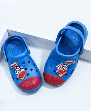 Disney Pixar Cars Clogs With Back Strap - Blue
